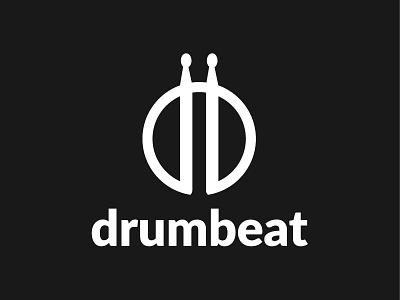 Drumbeat Logo logo5 leobeard negative space logo hidden logo