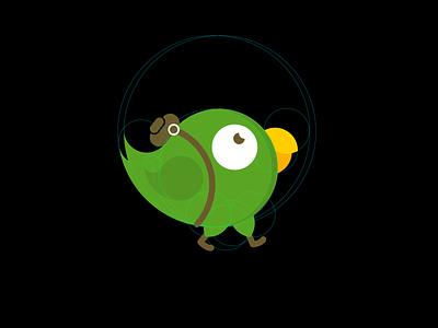 Brand Hero illustration vector leobeard branding logo