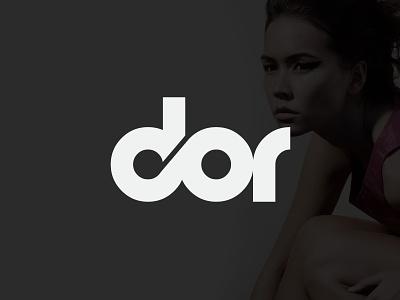 DOR - Logo typography logotype lettering identity branding logo