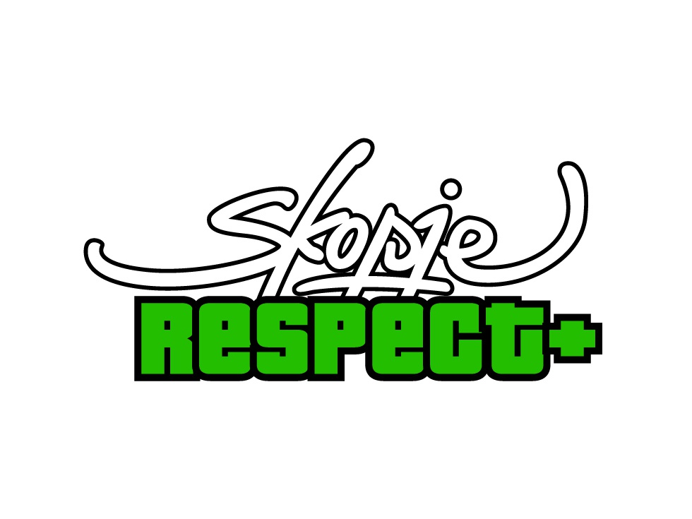Skopje Respect + Logo simple lettering logotype brand typography design logo branding type lines vector illustration logo design branding logo design skopje event artwork event logo event branding event