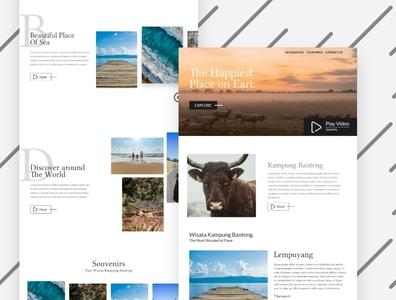 Bull Village Tour - Exploration Design
