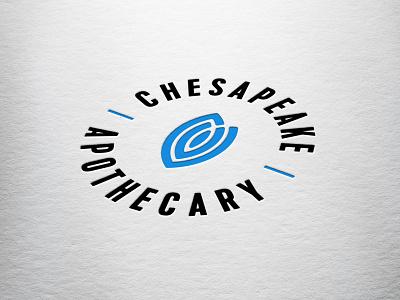 Chesapeake Apothecary icon illustrator logo