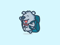 Explorer Bear Logo Design