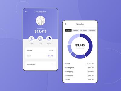 Money Management App spending financial management asset bank app wallet money