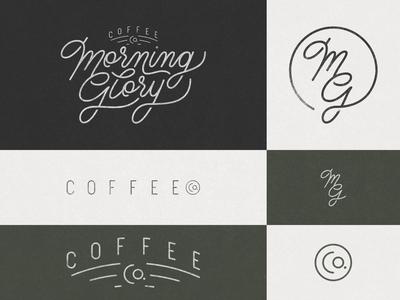 Morning Glory Coffee Co- Responsive Branding