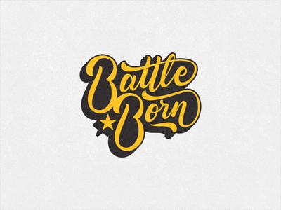 Battle Born- Enamel Pin
