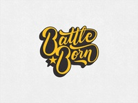 Battle Born- Enamel Pin