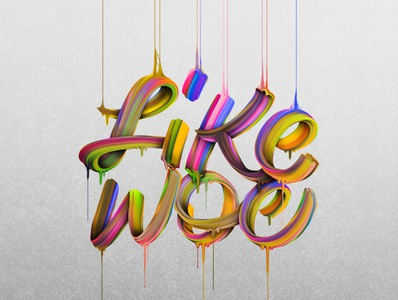 Like W0e - Experimental Type letters typography design typographic typography art type design typedesign graphic design liquid photoshop experimental type art hand drawn illustration hand lettering handlettering typography design lettering custom type type
