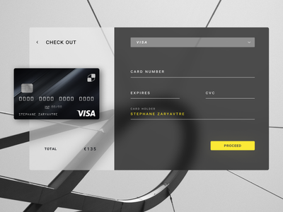 Daily UI 002 - Credit Card user interface e-commerce checkout figma daily ui credit card fluent design ux ui