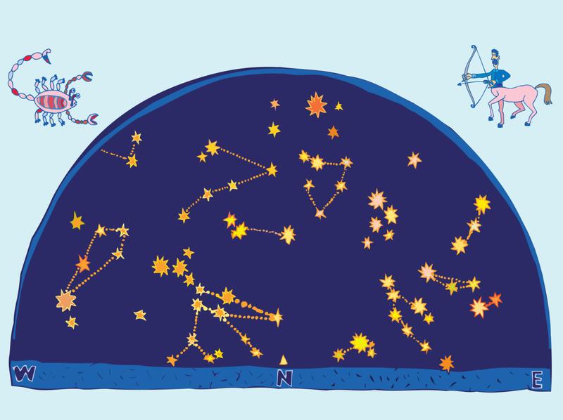 An Ancient Telescope book illustration