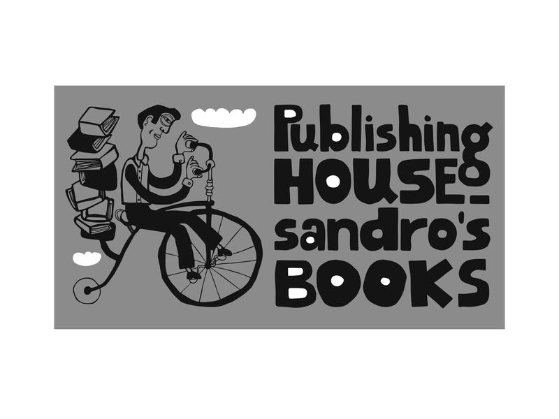 Publishing House Sandro's Books illustraion design logo