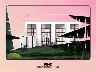 Pink & Building