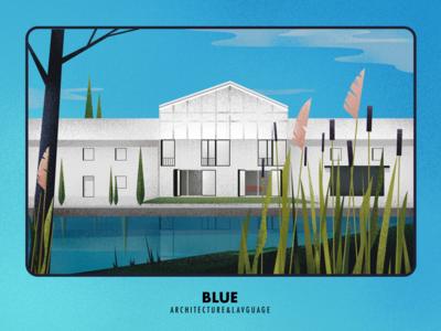 Blue & Building