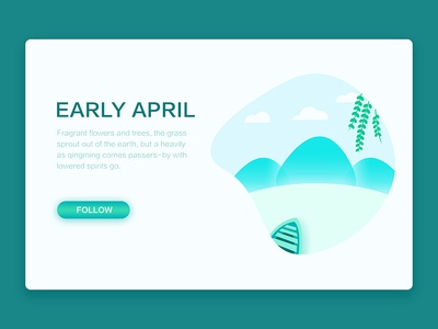 early April