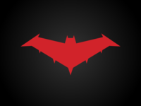 Red Hood Logo - Nightwing: The Series