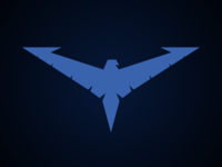 Nightwing Logo - Nightwing: The Series