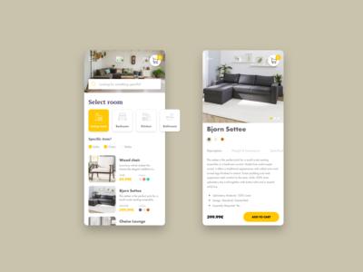 Furniture Concept App