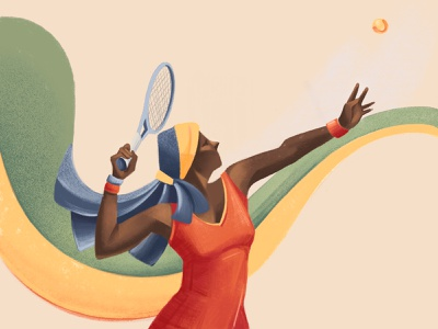 International Women's Day - 2019 women volley tennis sport sail ho studio procreate app ipad pro international womens day internationalwomensday sketch editorial colors illustration chiara vercesi