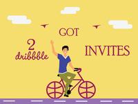 Dribbble - Invites