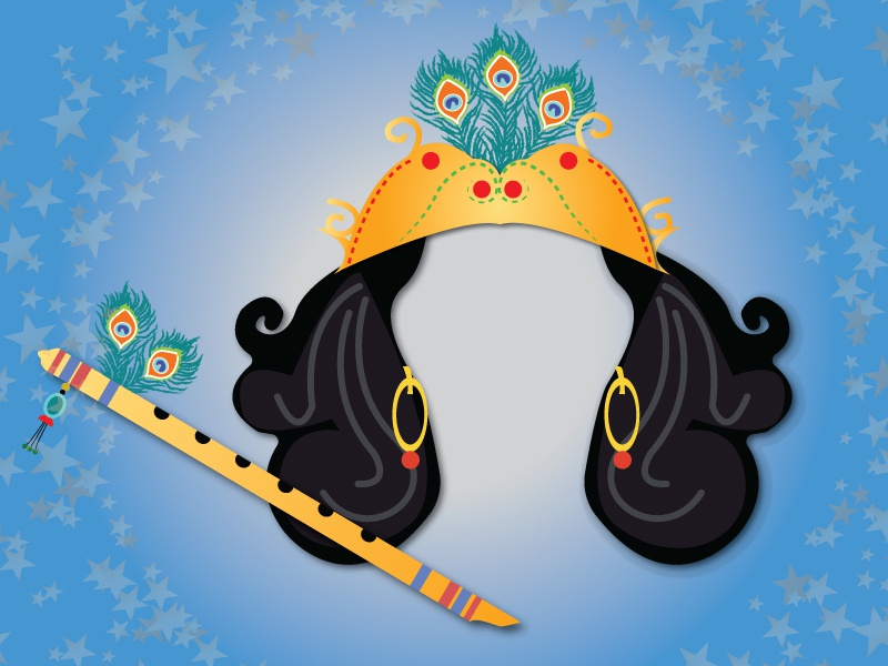 Lord Krishna by Mahesh Babu on Dribbble