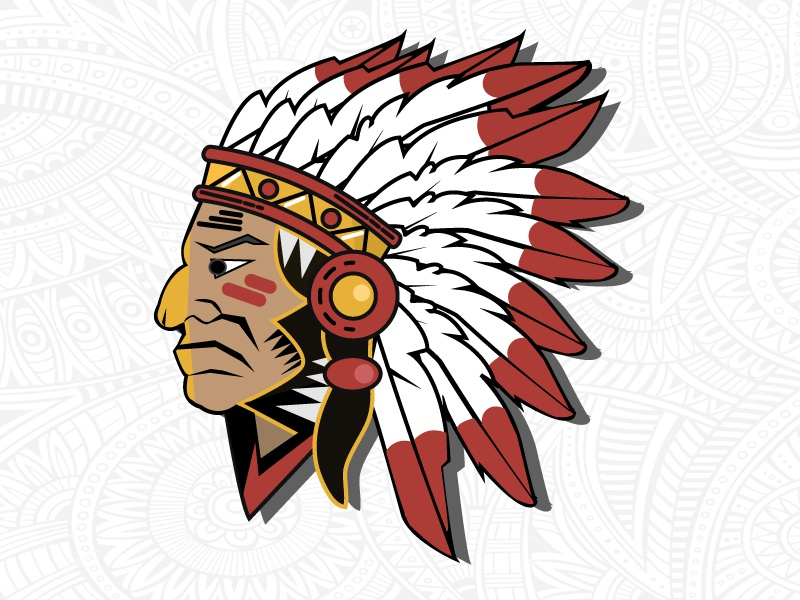 Native American nature ui native american history india tribe ancient colors logo vector branding beauty culture poster fun colours learning rookie illustration design