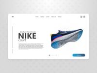 Nike Epic React Flykit Sneaker