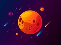 Planet Illustrarion
