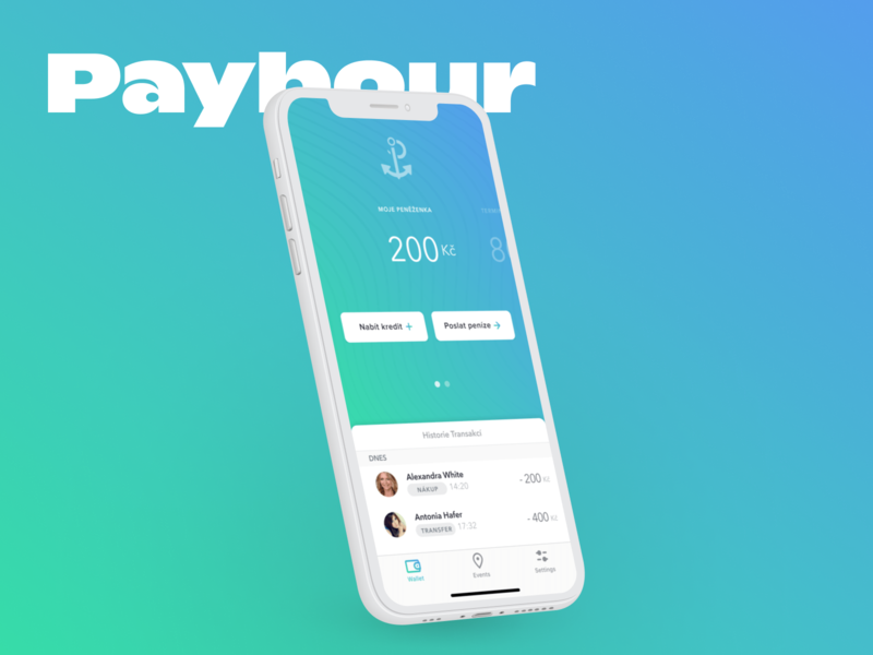 Paybour - Mobile Wallet Concept wallet app ios mobile app mobile ui fintech fintech app wallet ui ux