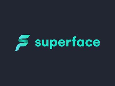 Superface Logo branding brand identity identity logotype logo design brand api logo
