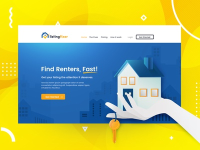 Website for property listing
