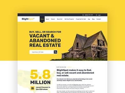 Real Estate App - Website app landing page landing page website design web design web app design saas saas landing page realestate real estate website real estate agency real estate app
