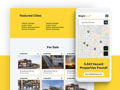 Real Estate Map - Web Design