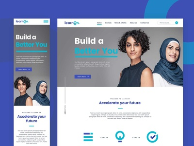 Digital Learning Web Design