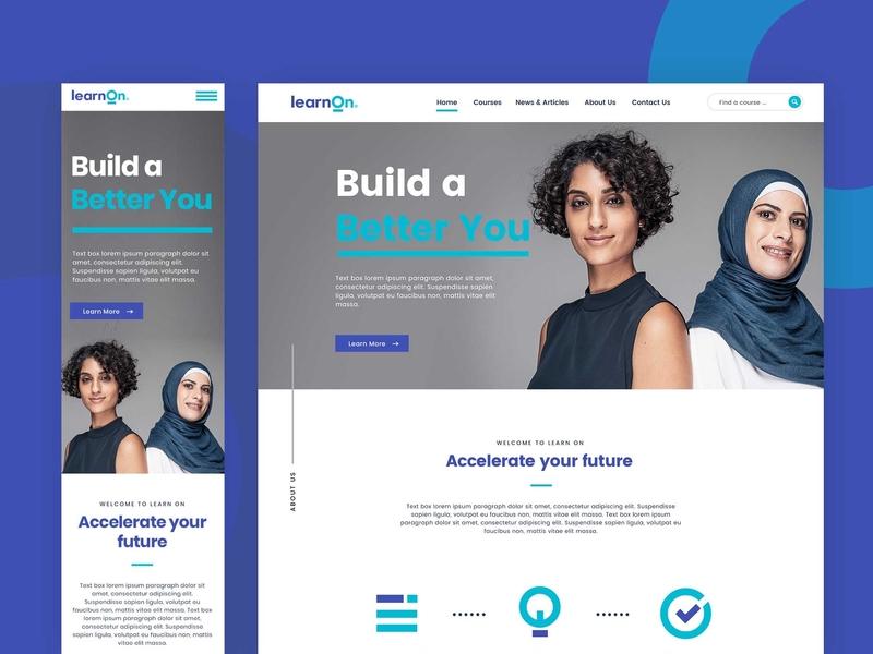 Digital Learning Web Design By Kama Dwipayana On Dribbble