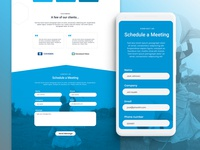 Contact Form UI Design