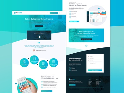 Beautiful SaaS Landingpage