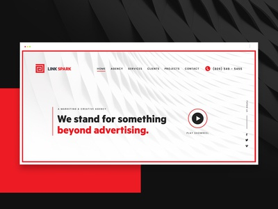 Web Design for Creative Agency