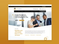 059 web design for warehousing and logistic company