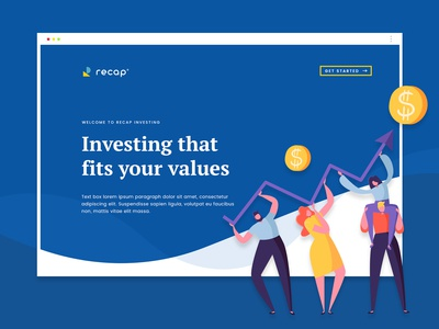 Finance and Investment Web Design