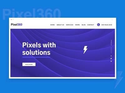 Web Design For Digital Creative Agency