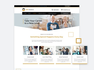 Recruiting, Job Listing & Careers Web Design