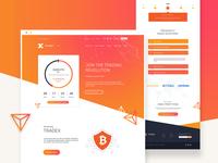 Digital Wallet App - Landing Page Design