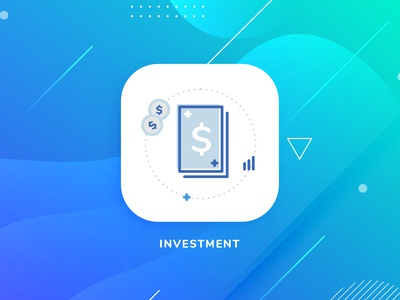 Modern Icon Design For Investment Company