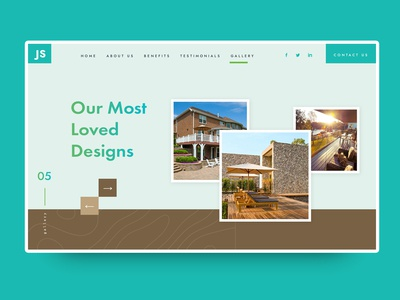 Real Estate Gallery Web Design