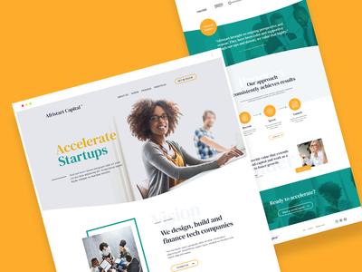 Venture Capital Funds - Web Design
