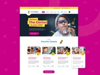 Kids camp - web design