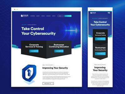 Digital security web design
