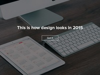 This is how design looks in 2015