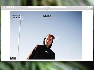 Minimalistic clothing store web design street style clothing online shop online store ecommerce minimal