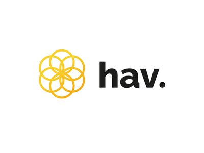 hav. brand identity typography brand web icon design vector logo branding minimal